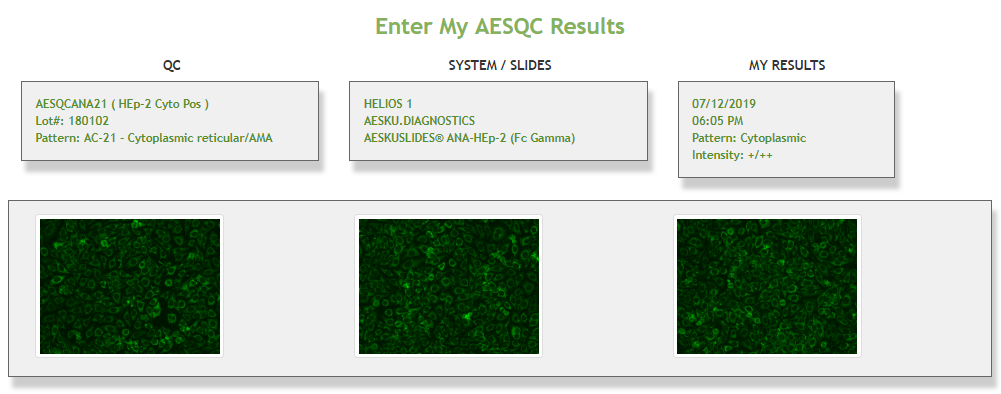 image enter myaesqc results